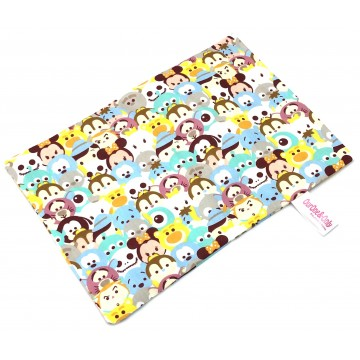 Blue Tsum Tsum Full Cotton Short Pillow Case