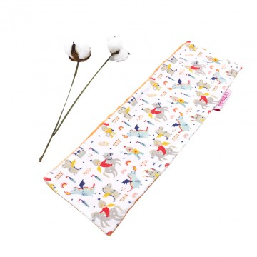 Dragons & Knights Full Minky Long Pillow Case