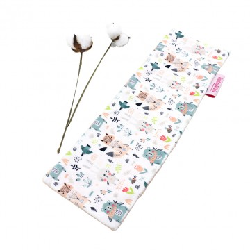 Scandinavian Animals Full Minky Long Pillow Case