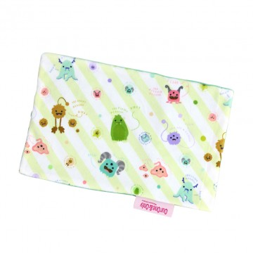 Friendly Monsters Full Minky Short Pillow Case
