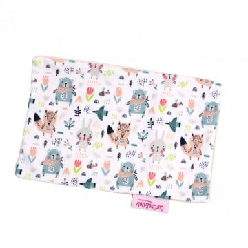 Scandinavian Animals Full Minky Short Pillow Case