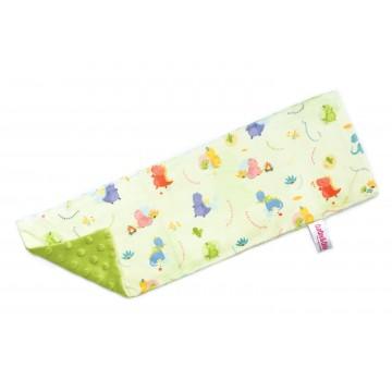 Dino World Full Minky Long Pillow Case
