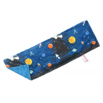 Galaxy Planets Full Minky Long Pillow Case