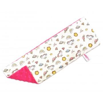 Sunshine Unicorn Full Minky Long Pillow Case