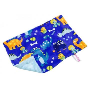 Baby Dino Full Minky Short Pillow Case
