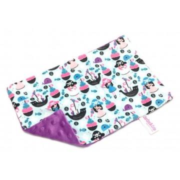 Female Pirate Full Minky Short Pillow Case