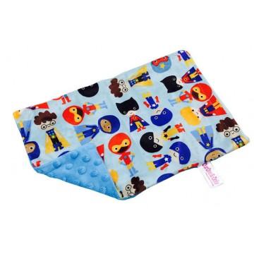 Hero Boy Full Minky Short Pillow Case