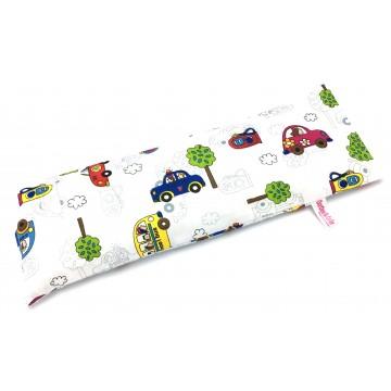 Cars Full Cotton Long Husk Pillow