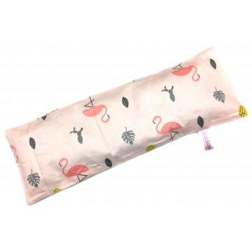 Flamingo Full Cotton Long Husk Pillow