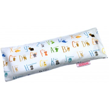 Alphabet Animals Full Cotton Long Husk Pillow