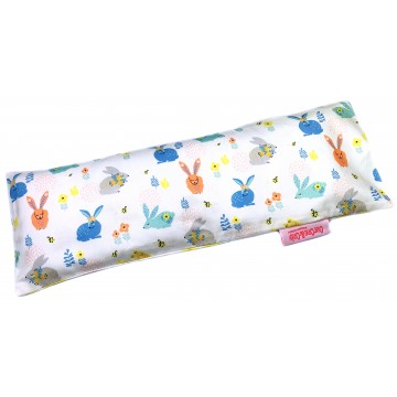 Hopping Bunnies Full Cotton Long Husk Pillow