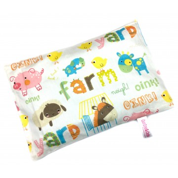 Farm Animals Full Cotton Short Husk Pillow