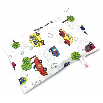Cars Full Cotton Short Husk Pillow