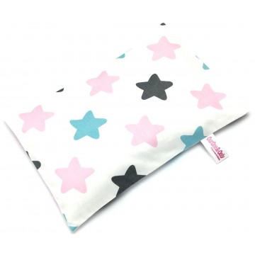 Big Stars Full Cotton Short Husk Pillow