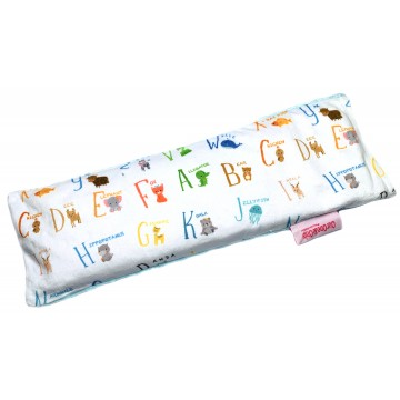 Alphabet Animals Full Minky Long Husk Pillow