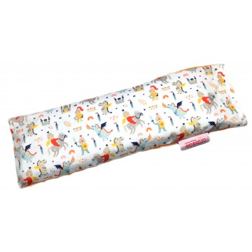 Dragons & Knights Full Minky Long Husk Pillow