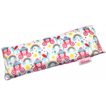 Princess Carriage Full Minky Long Husk Pillow