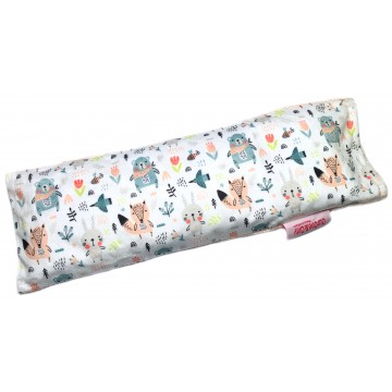 Scandinavian Animals Full Minky Long Husk Pillow