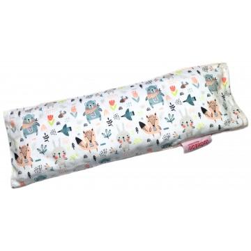 Scandinavian Animals Full Minky Long Husk Pillow