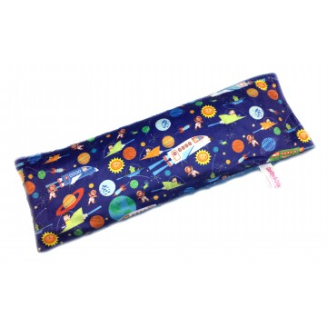 Outer Space Adventures Full Minky Long Husk Pillow