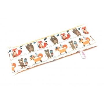Tribal Animals Full Minky Long Husk Pillow
