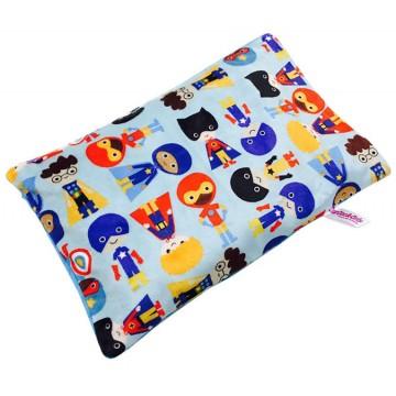 Hero Boys Full Minky Short Husk Pillow