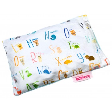 Alphabet Animals Full Minky Short Husk Pillow