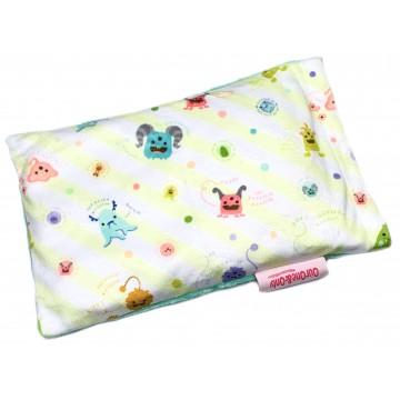 Friendly Monsters Full Minky Short Husk Pillow