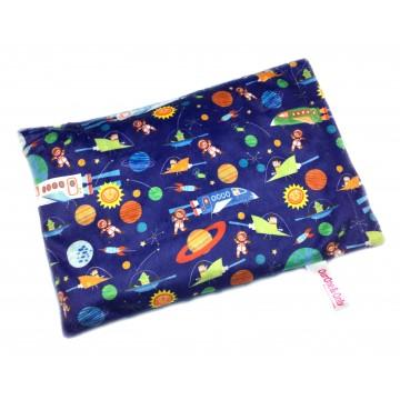 Outer Space Adventures Full Minky Short Husk Pillow