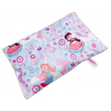 Princess Full Minky Short Husk Pillow