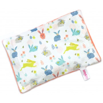 Hopping Bunnies Full Minky Short Husk Pillow