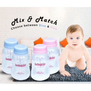 Standard Neck Breastmilk Storage Bottles (150ml)