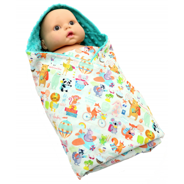 Holiday Time Swaddle Blanket