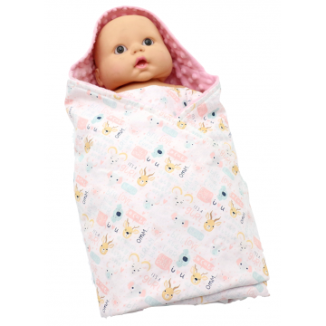 It's A Gurl Swaddle Blanket