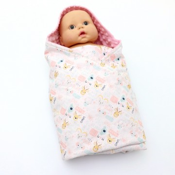It's A Gurl Swaddle Blanket