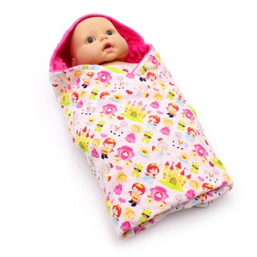 Princess and The Frog Swaddle Blanket