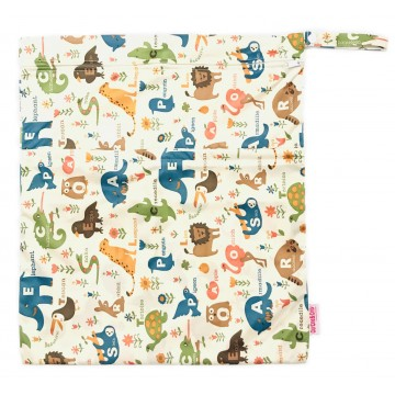 ABC Animals Waterproof Wetbag