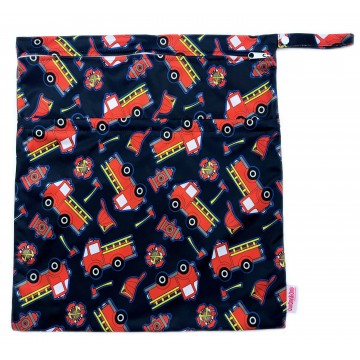 Fire Engine Waterproof Wetbag