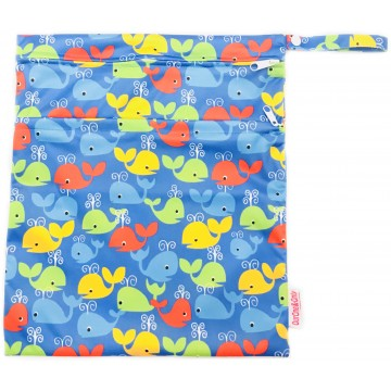 Colourful WhalesWaterproof Wetbag